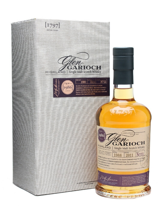 Glen Garioch 1986  / 25 Years Old Speyside Single Malt Scotch Whisky