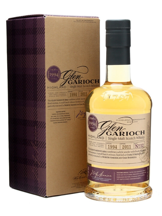 Glen Garioch 1994 Speyside Single Malt Scotch Whisky