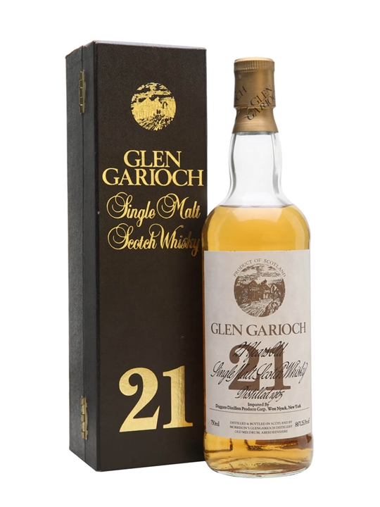Glen Garioch 21 Year Old / Bot.1980s Highland Whisky