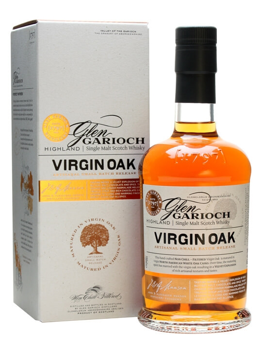 Glen Garioch Virgin Oak Highland Single Malt Scotch Whisky