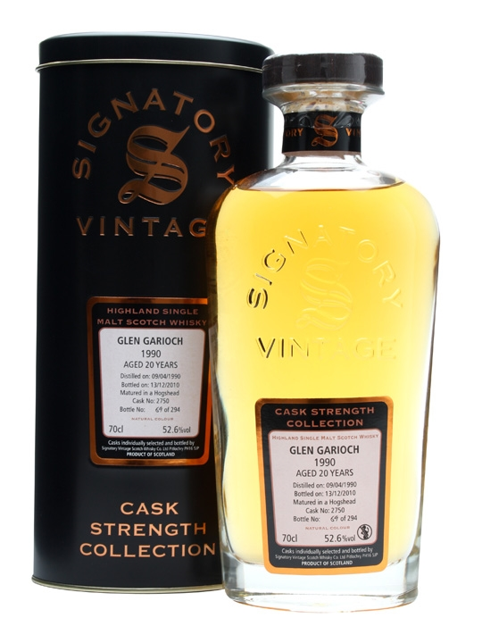 Glen Garioch 1990 / 20 Year Old / Cask #2750 / Signatory Highland Whisky