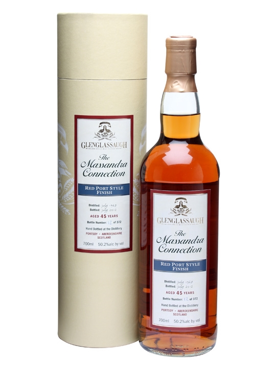 Glenglassaugh 1967 / 45 Year Old / Red Port Style Finish Speyside Whisky