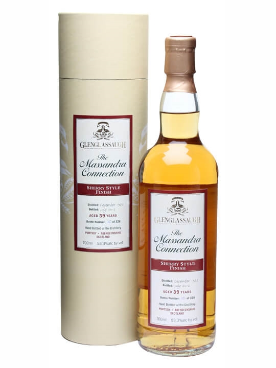 Glenglassaugh 1972 / 39 Year Old / Sherry Style Finish Speyside Whisky