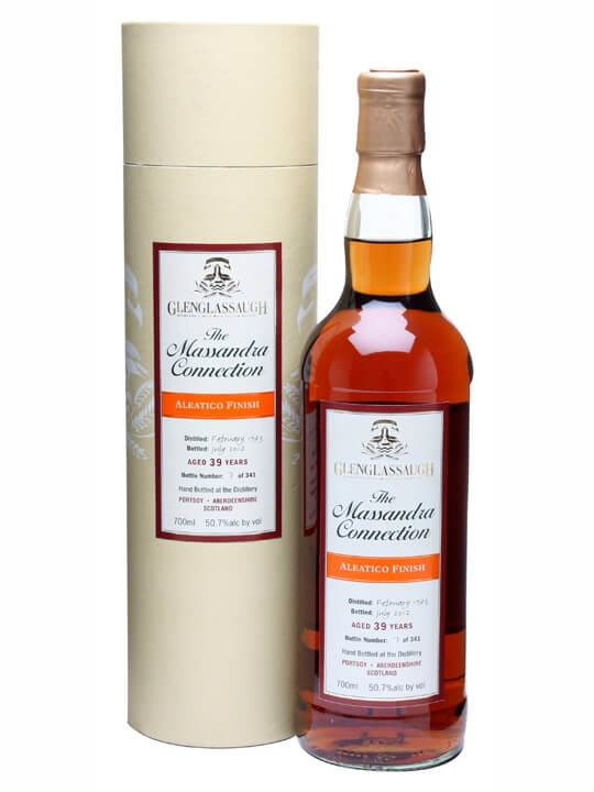 Glenglassaugh 1973 / 39 Year Old / Aleatico Finish Speyside Whisky