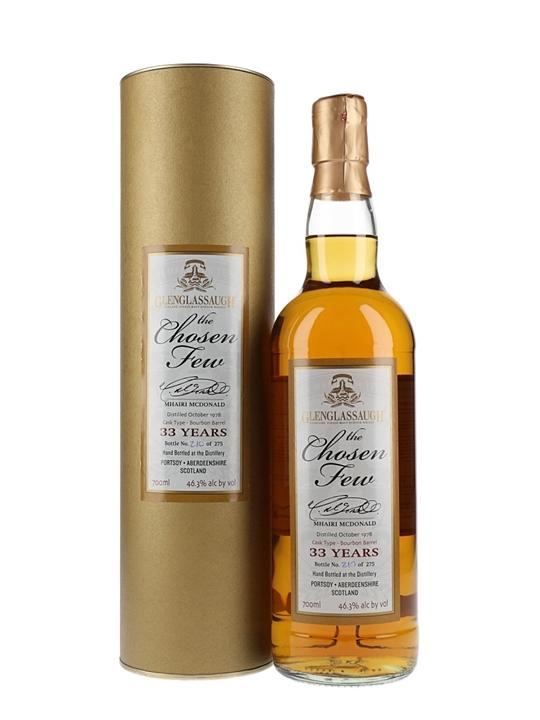 Glenglassaugh 1978 / 33 Year Old / Chosen Few Speyside Whisky