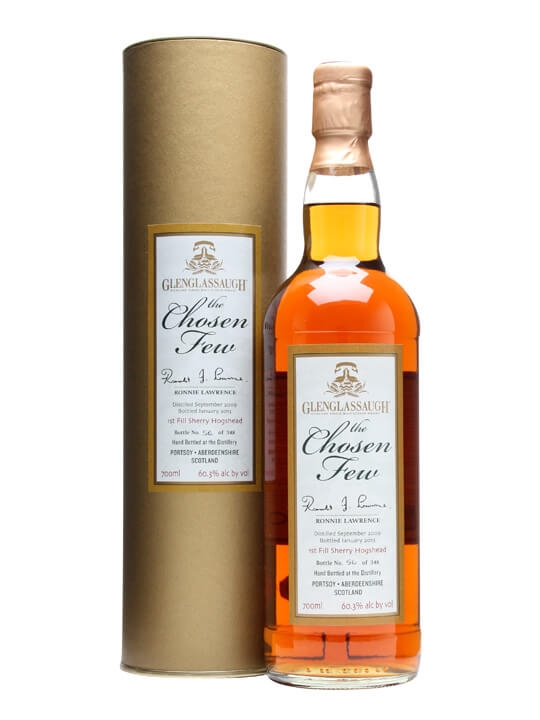 Glenglassaugh 2009 / Chosen Few / Ronnie Lawrence Speyside Whisky