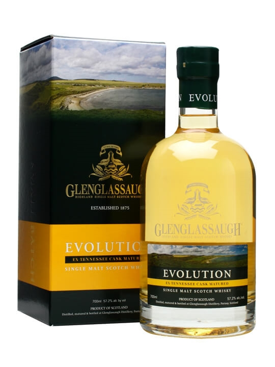 Glenglassaugh Evolution Speyside Single Malt Scotch Whisky
