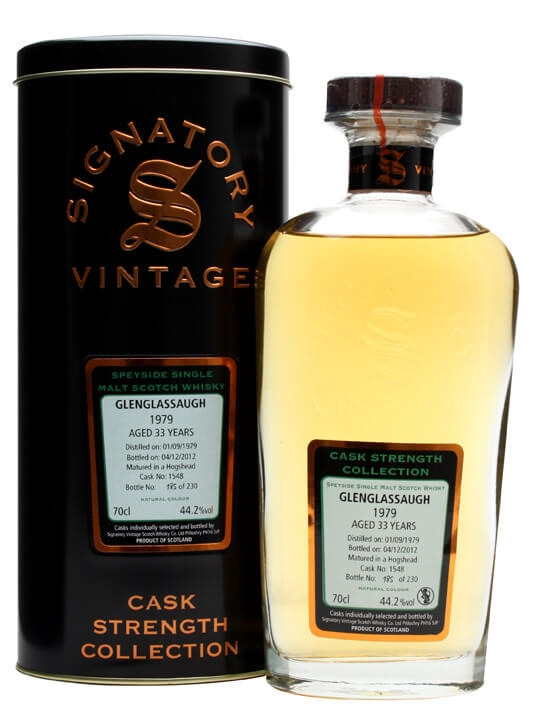 Glenglassaugh 1979 / 33 Year Old / Cask #1548 / Signatory Speyside Whisky