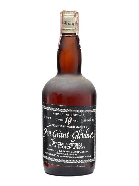 Glen Grant-glenlivet / 19 Year Old / Bot.1970s Speyside Whisky