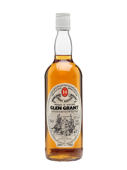 Glen Grant 10 Year Old / Bot.1980s / Gordon & Macphail Speyside Whisky