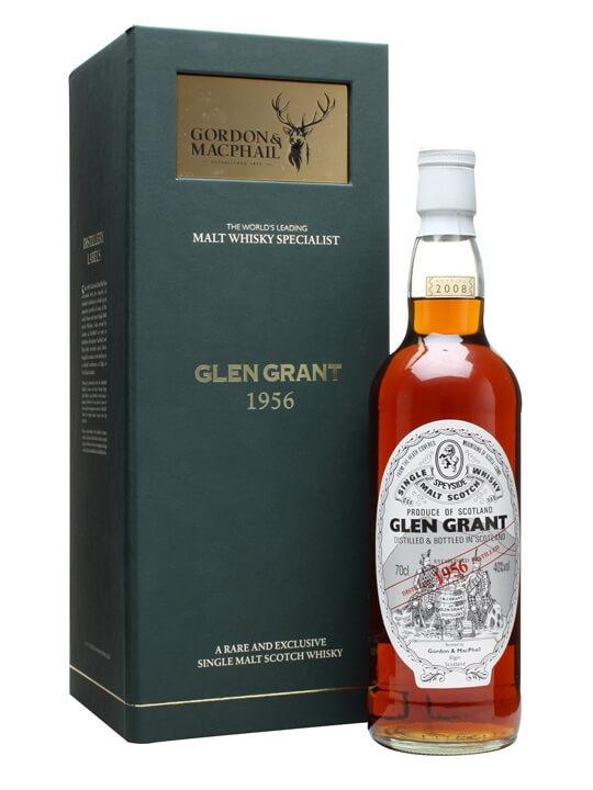 Glen Grant 1956 / Gordon & Macphail Speyside Single Malt Scotch Whisky
