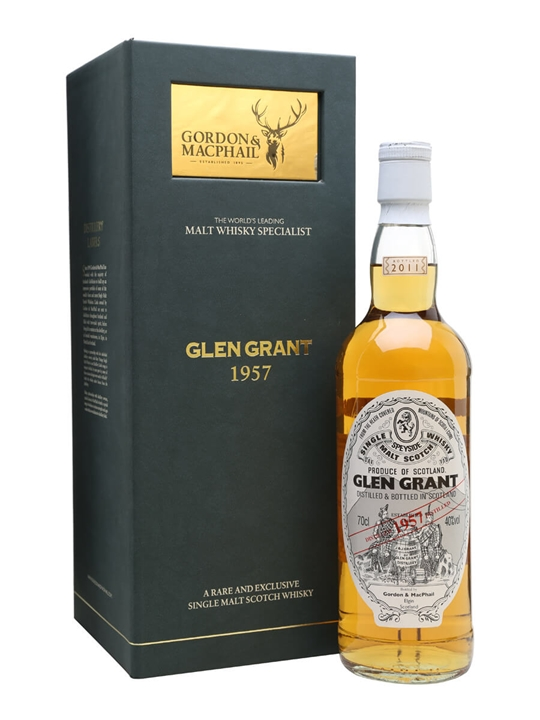 Glen Grant 1957 / Gordon & Macphail Speyside Single Malt Scotch Whisky