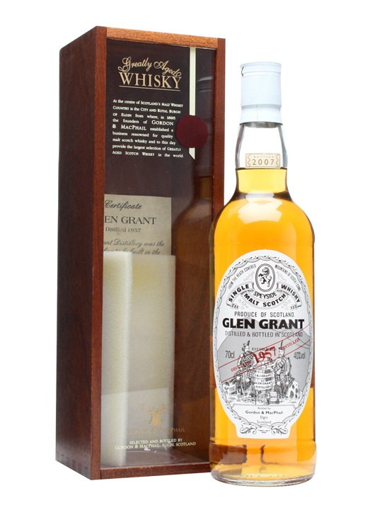 Glen Grant 1957 / Bot.2007 Speyside Single Malt Scotch Whisky