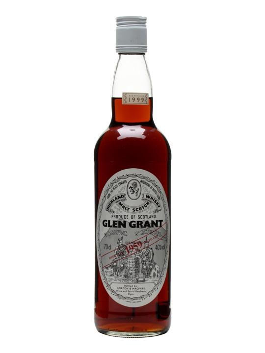 Glen Grant 1959 / Btd 1999 / Sherry Cask / Gordon & Macphail Speyside Whisky