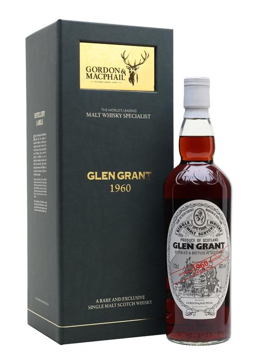 Glen Grant 1960 / Gordon & Macphail Speyside Single Malt Scotch Whisky