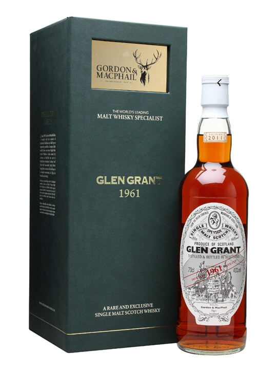 Glen Grant 1961 Speyside Single Malt Scotch Whisky