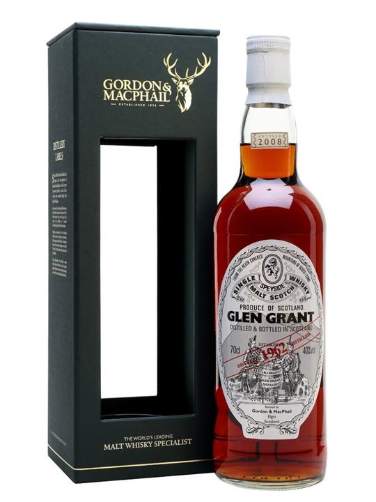 Glen Grant 1962 / Gordon & Macphail Speyside Single Malt Scotch Whisky