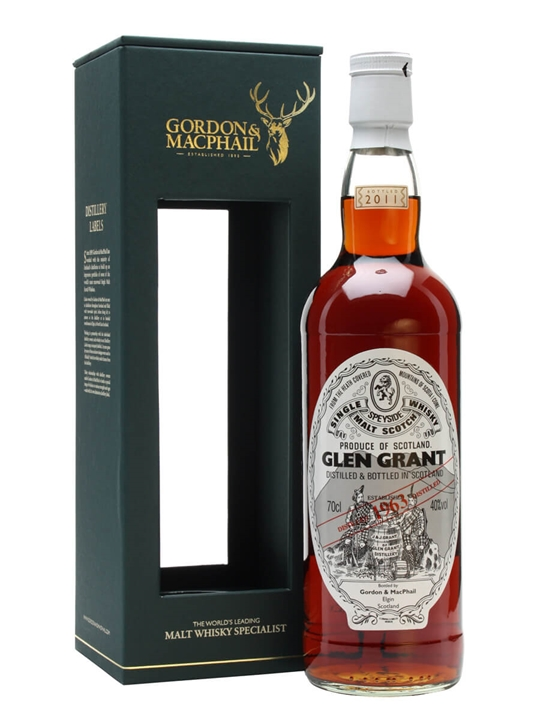 Glen Grant 1963 / Gordon & Macphail Speyside Single Malt Scotch Whisky