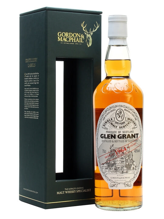 Glen Grant 1964 / Gordon & Macphail Speyside Single Malt Scotch Whisky