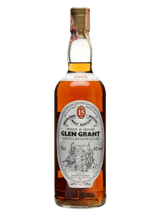 Glen Grant 1968 / 15 Year Old / Gordon & Macphail Speyside Whisky