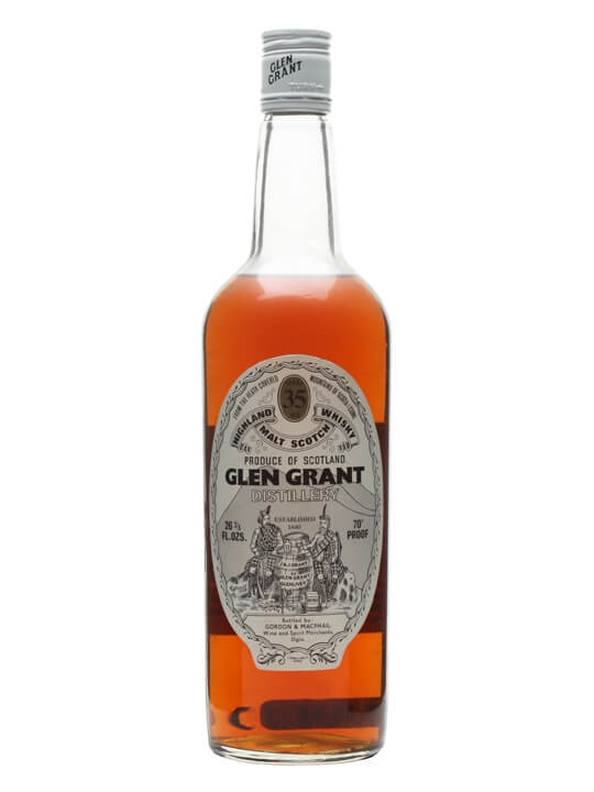 Glen Grant 35 Year Old / Bot.1970s / Gordon & Macphail Speyside Whisky