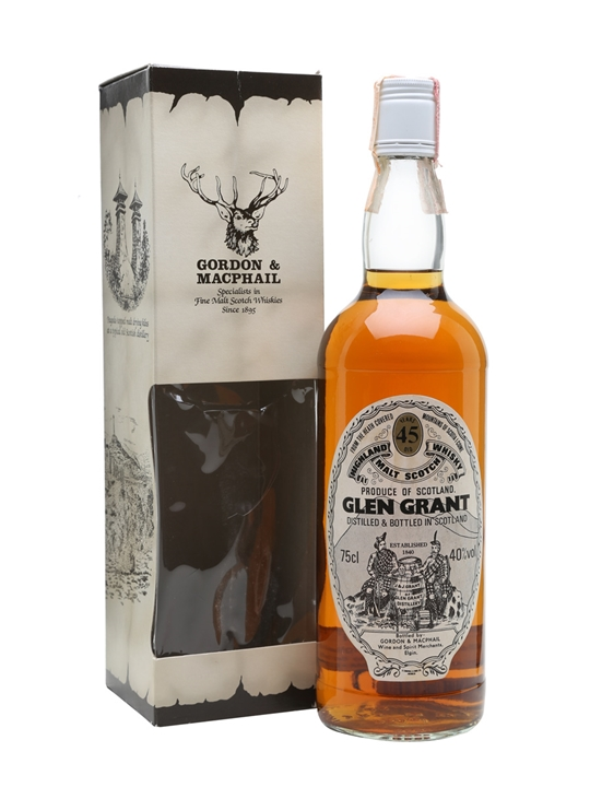 Glen Grant 45 Year Old / Bot.1970s / Gordon & Macphail Speyside Whisky