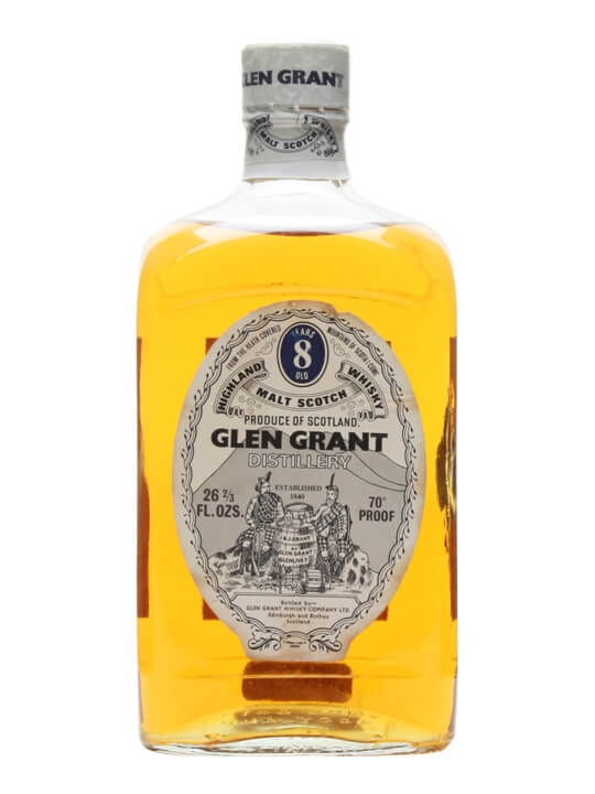 Glen Grant 8 Year Old / Bot.1970s Speyside Single Malt Scotch Whisky