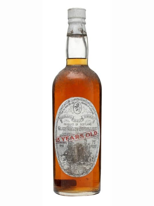 Glen Grant 15 Year Old / Bot.1930s Speyside Single Malt Scotch Whisky