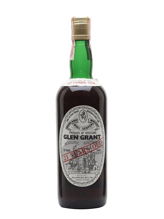 Glen Grant 1958 / 21 Year Old Speyside Single Malt Scotch Whisky