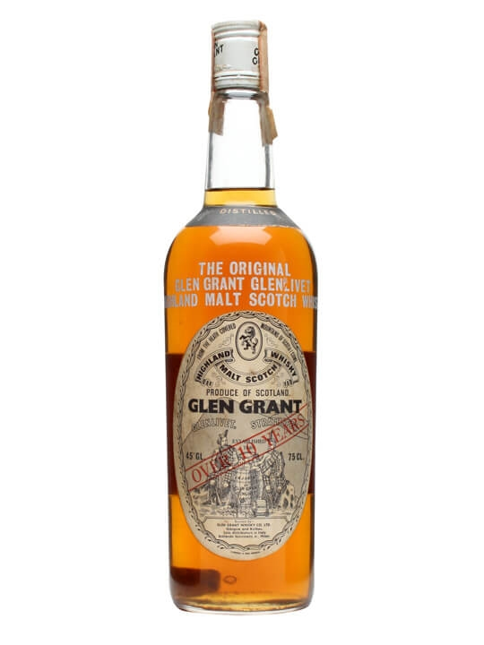 Glen Grant 1958 / Over 10 Years Speyside Single Malt Scotch Whisky