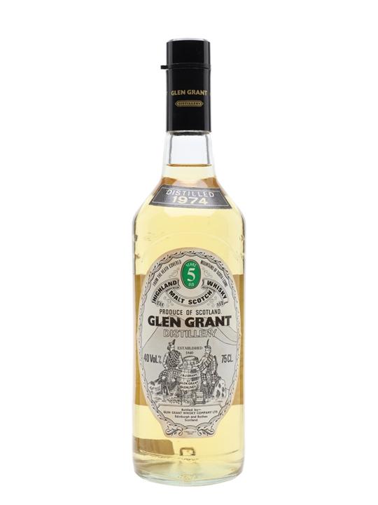 Glen Grant 1974 / 5 Year Old Speyside Single Malt Scotch Whisky