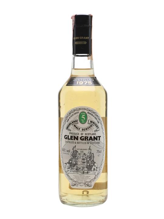 Glen Grant 1975 / 5 Year Old Speyside Single Malt Scotch Whisky