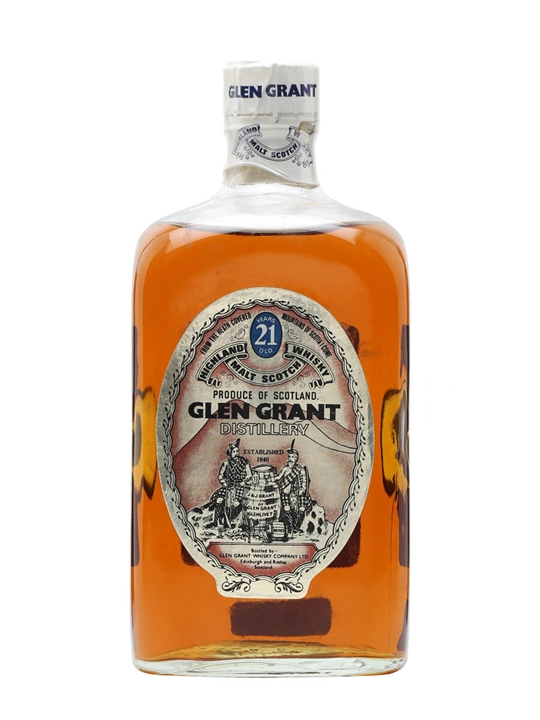 Glen Grant 21 Year Old / Bot.1970s Speyside Single Malt Scotch Whisky