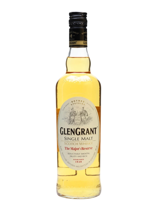 Glen Grant  / The Major's Reserve Speyside Single Malt Scotch Whisky
