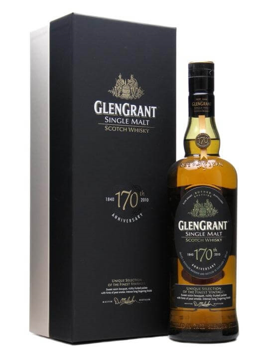 Glen Grant 170th Anniversary Speyside Single Malt Scotch Whisky