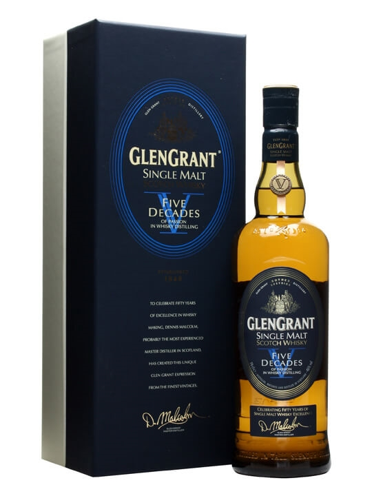 Glen Grant Five Decades Speyside Single Malt Scotch Whisky