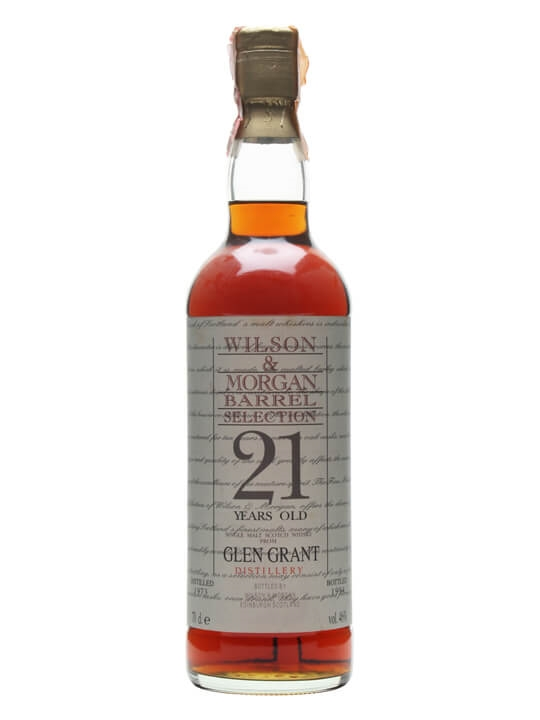 Glen Grant 1973 / 21 Year Old / Wilson & Morgan Speyside Whisky