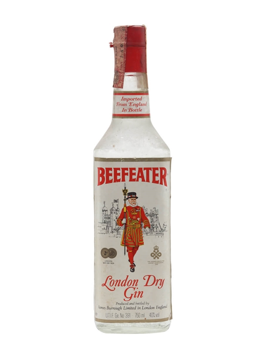 Beefeater Gin / Bot.1980s
