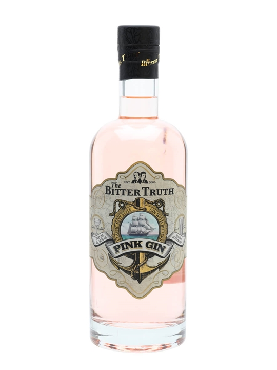 Bitter Truth Pink Gin Buy Online The Whisky Exchange