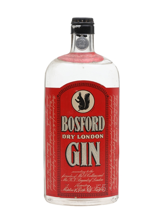 Bosford Extra Dry London Gin / Bot.1950s
