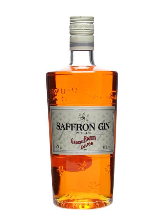 Most Expensive Beer In The World >> Boudier Saffron Gin : Buy from World's Best Drinks Shop