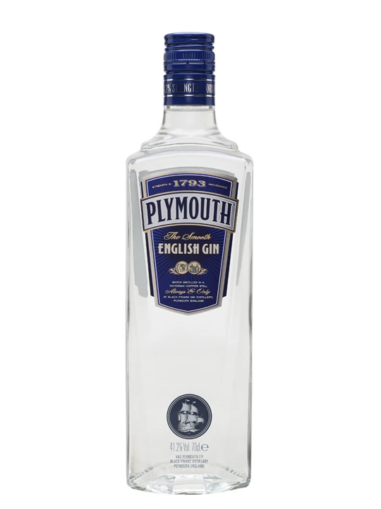 Plymouth Gin (Old Presentation)