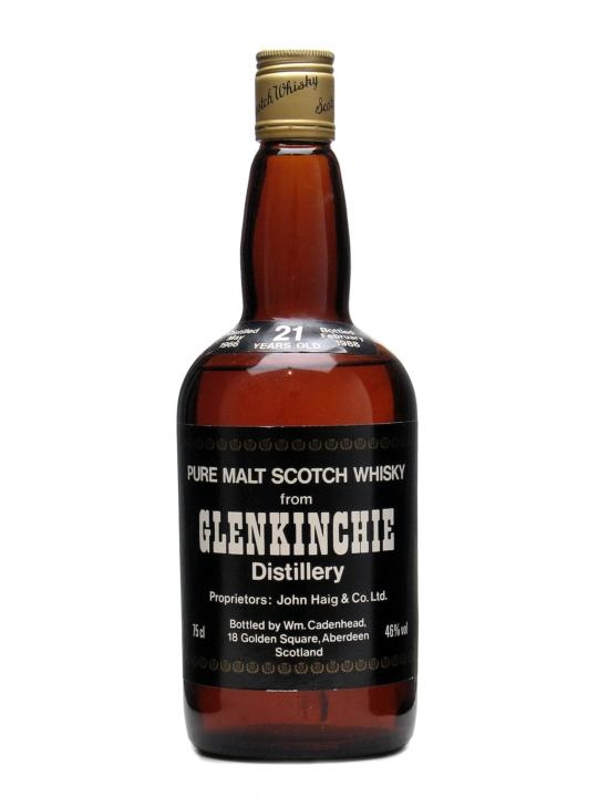 Glenkinchie 1966 / 21 Year Old Lowland Single Malt Scotch Whisky