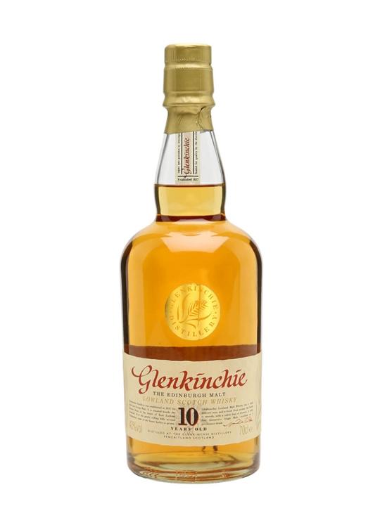 Glenkinchie 10 Year Old Lowland Single Malt Scotch Whisky