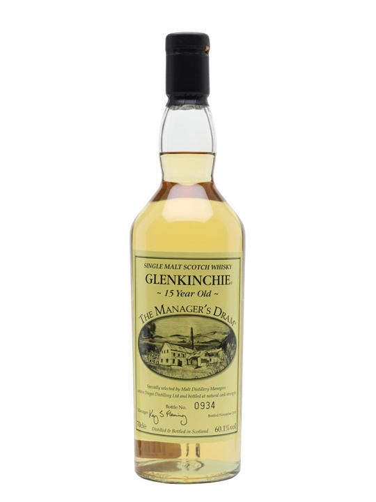 Glenkinchie 15 Year Old / Manager's Dram Lowland Whisky