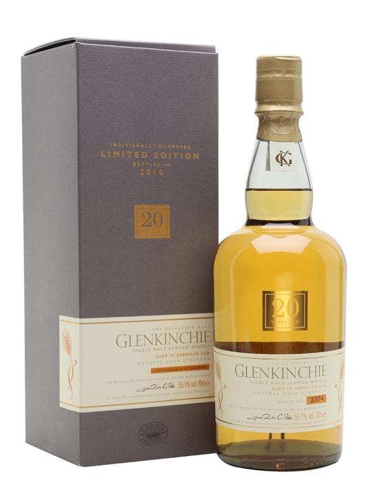 Glenkinchie 1990 / 20 Year Old Lowland Single Malt Scotch Whisky