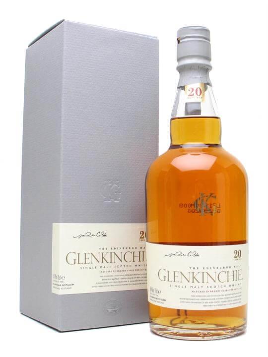Glenkinchie 20 Year Old Lowland Single Malt Scotch Whisky