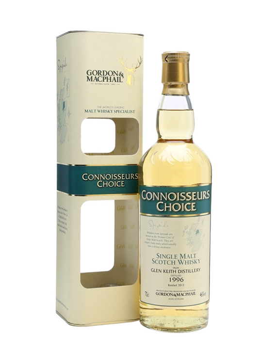 Glen Keith 1996 / Connoisseurs Choice Speyside Whisky