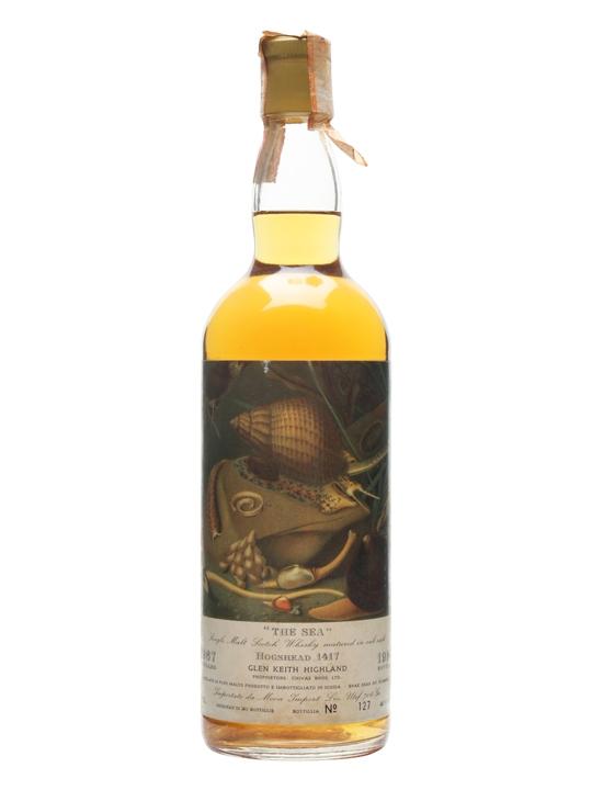 Glen Keith 1967 / The Sea Speyside Single Malt Scotch Whisky
