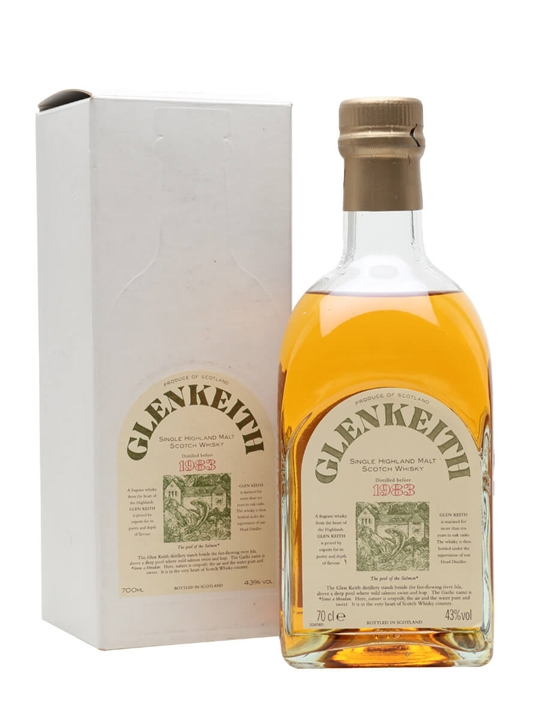 Glen Keith 1983 Speyside Single Malt Scotch Whisky